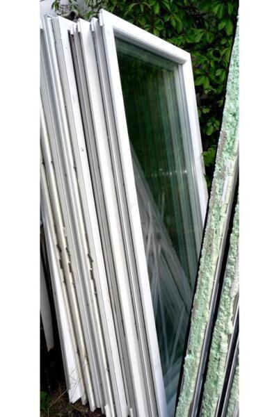 wintergarten bauen mit thermo fenster balkont r in hessen schmitten heimwerken. Black Bedroom Furniture Sets. Home Design Ideas