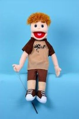 "28"" Danny Blonde Haired Boy With Detachable Legs Puppet GS5711 New By Sunny"