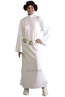 Damen Erwachsene Star Wars Deluxe Prinzessin Leia Kostüm