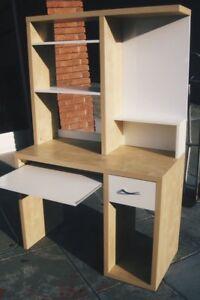 Ikea MIKAEL Desk In Birch Effect