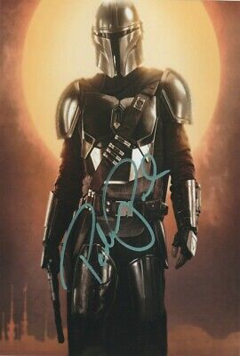 "Pedro Pascal Star Wars The Mandalorian Signed Autograph PRINT 6x4"" Gift"