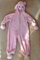Pink poodle Halloween costume