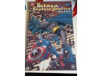 Batman and captain america comic