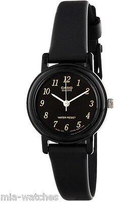Casio Women's Black Resin Watch, Analog, Water Resistant, LQ139A-1
