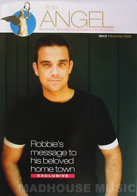 ROBBIE WILLIAMS Magazine The Angel Issue 1 2006 - Stoke On Trent Only RARE Mint