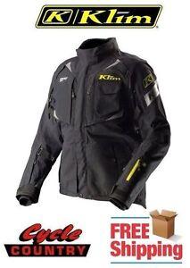 KLIM BADLANDS PRO GORE-TEX ARMORED ADVENTURE MOTORCYCLE JACKET BLACK 2XL NEW