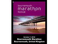 Wanted Bournemouth Marathon place
