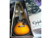 EPIPHONE AJ 220 ELECTRO ACOUSTIC GUITAR
