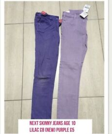 Next skinny jeans age 10