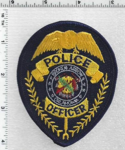 Broken Arrow Police (Oklahoma) 1st Issue Cap/Hat Patch