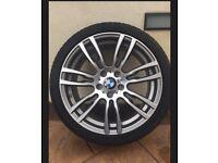 GENUINE BMW 3 Series M Sport 19 Inch Alloy Wheels F30/F31
