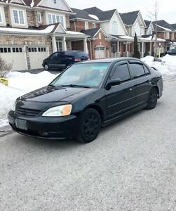 2002 Honda Civic Black