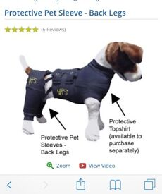 Protective Topshirt for Dogs and back legs sleeve