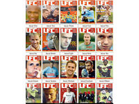 516 Liverpool FC Weekly Magazines mint