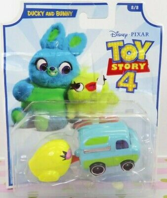 2019 Hot Wheels DISNEY TOY STORY 4 Car Ducky and Bunny Pixar Toy Mini Car Youtub
