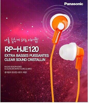 Random Color RP-HJE120 Genuine Panasonic Stereo Earphone In-Ear Ergofit AA