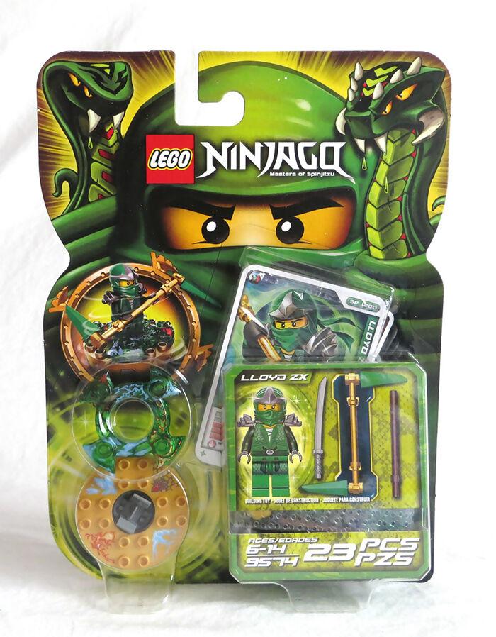 Ninjago Lloyd ZX Green Ninja Spinner Set