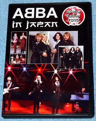 ABBA - RARE 'ABBA in Japan' Collector's 2DVD - STUNNING!!!