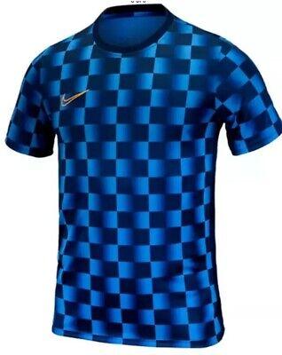 NWT Nike Men/'s Dri-Fit Dry Print Short Sleeve Soccer Tee Size M L XL 2XL AQ0315