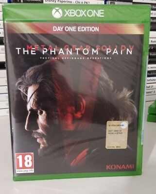 METAL GEAR SOLID V THE PHANTOM PAIN ITALIANO XBOX ONE /x/s NUOVO DAY ONE D1 ED.