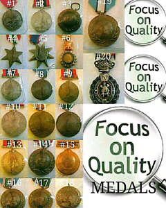Soldpp  OLD WAR MEDALS, WAR , CIVIC, UN ETC X 20 Lindisfarne Clarence Area Preview