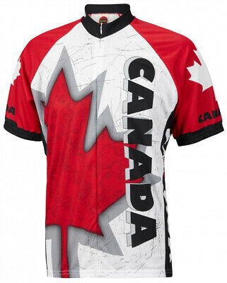 World Jerseys Canada Mens Cycling Jersey bike bicycle canadian - Canadian Bike Jersey