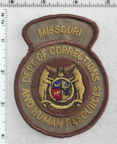 Dept of Corrections and Human Resources (Missouri) RARE 1st Issue Shoulder Patch