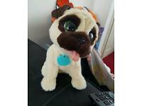 Fur real jj jumping pug interactive toy ( willing to post )
