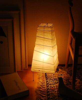 Isamu Noguchi Akari 4N Table lamp Lantern Washi Shade Japanese Light Handcraft