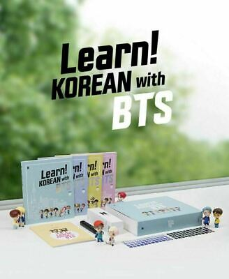 Learn! Korean with BTS Book Package Official MD Expedited Shipping (DHL, Fedex)