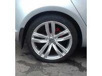 VW Golf Eos Passat Kansas 18 Alloy wheels