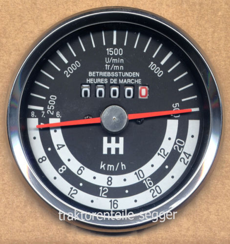 Traktormeter linksdrehend für IHC 353 Schlepper Traktor 294 Foto 1