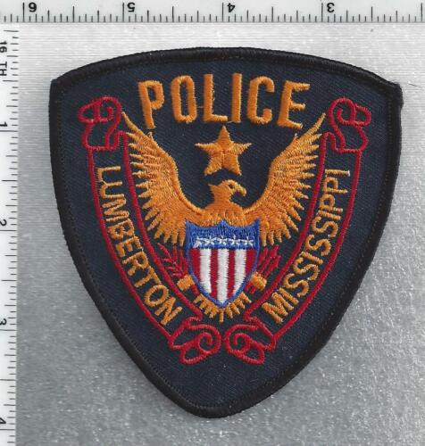 Lumberton Police (Mississippi) 2nd Issue Shoulder Patch