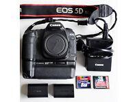 Canon EOS 5D mark II + EXTRAS