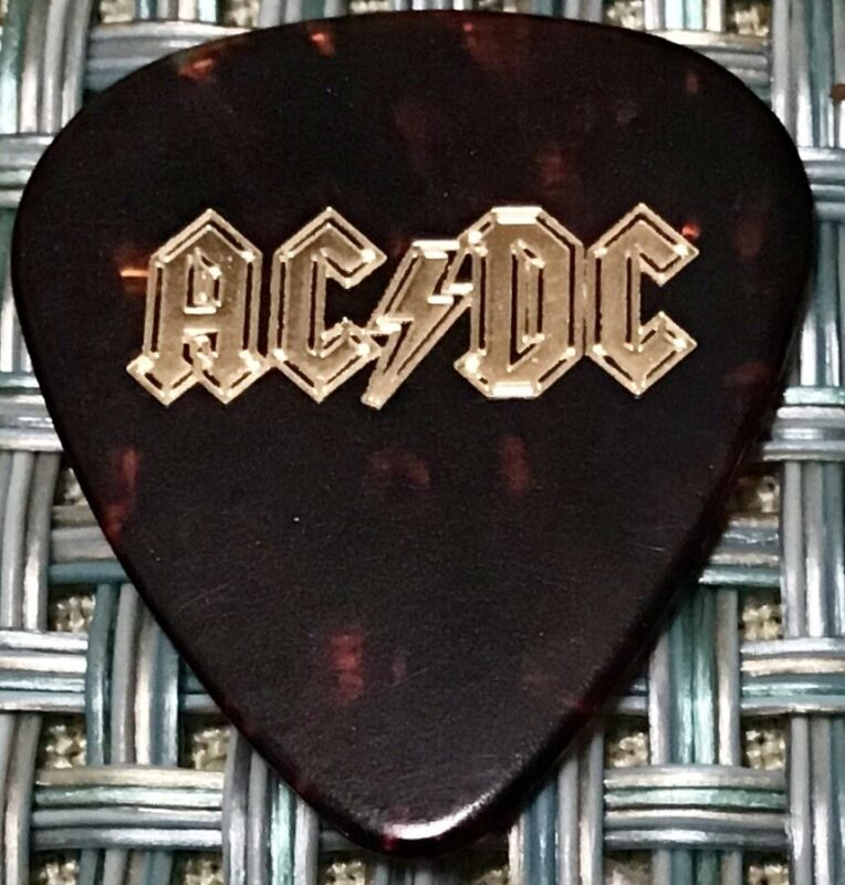 AC/DC 2015 Rock OR BUST Tour Guitar Pick! STEVE YOUNG custom concert stage Pick