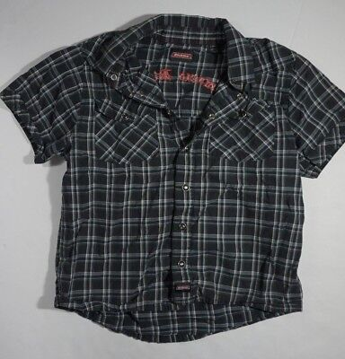 (Dickies Boys Dress Shirt Genuine Youth Large)