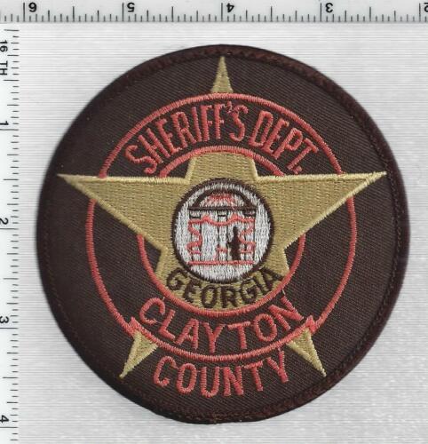Clayton County Sheriffs Dept (Georgia) 2nd Issue Uniform Take-Off Shoulder Patch