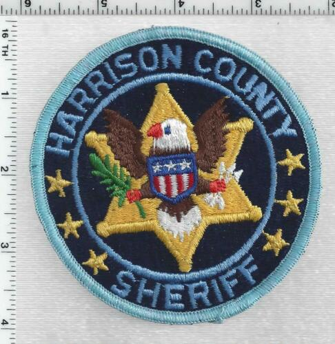 Harrison County Sheriff (Mississippi) 7th Issue Shoulder Patch