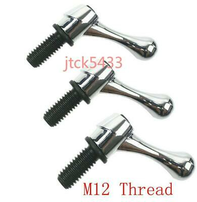 3pcs Bridgeport Part Head Milling Machine Table Lock Bolt Handle M12 Thread New