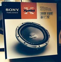 New In Box Sony Xplod Car Audio - Speakers, Sub and Amp