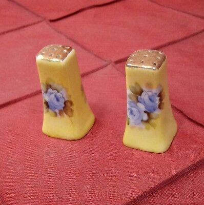Salt and Pepper Shakers set Made in Japan Ceramic