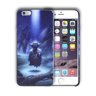 Star Wars Yoda Iphone 4 4s 5s SE 6S 7 8 X XS Max XR 11 Pro Plus Case Cover n13
