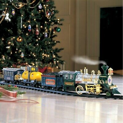 All Around the Christmas Tree Lights Sounds Action Holiday Train Set NEW