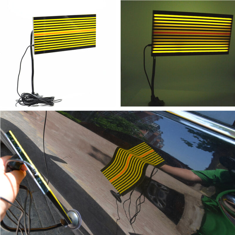 LED Line Board Reflector Car Bady Paintless Removal Dent Pit Tool Repair Detect