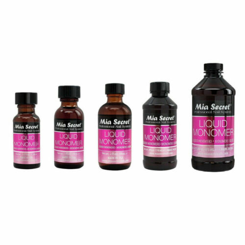 Mia Secret Professional Acrylic Nail System - Liquid Monomer - Made in USA