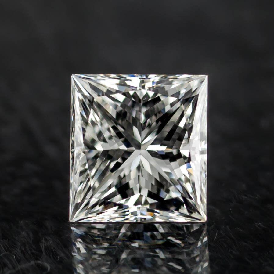1.18 Carat Loose H / VS1 Princess Cut Diamond GIA Certified