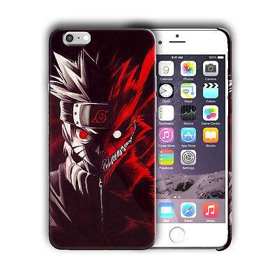 Naruto Nine Tail Iphone 4 4s 5 5s 5c SE 6 6s 7 8 X XS Max XR Plus Case Cover 15 ()