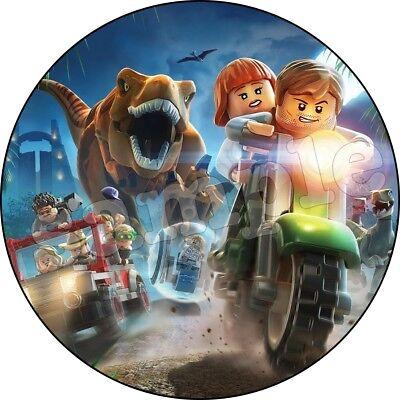 Eßbar Lego Jurassic World Dinosaurier Tortenaufleger NEU Party Deko Geburtstag