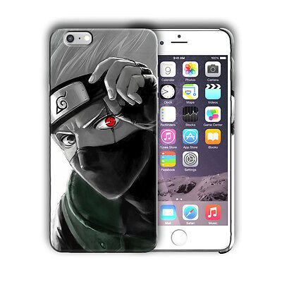 Naruto Kakashi Iphone 4 4s 5 5s 5c SE 6 6s 7 8 X XS Max XR Plus Case Cover 17 ()
