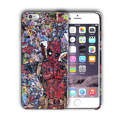 Super Hero Deadpool 2 Iphone 4s 5 5s SE 6 6s 7 8 X XS Max XR 11 Pro Plus Case 1
